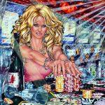 Fantasy, Popstars, phantastischer Realismus im Pop-Art-Stil